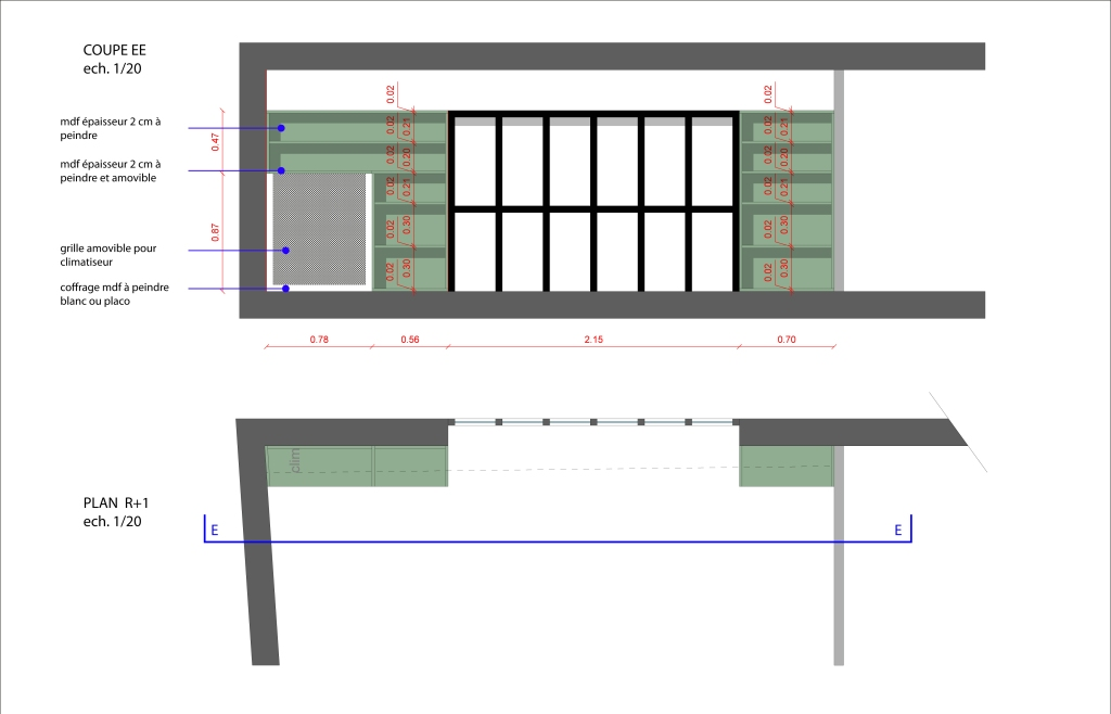 D-003_R+1 PLAN etageres